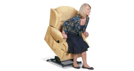 MALVERN Care Lift & Rise Chair - by Sherborne