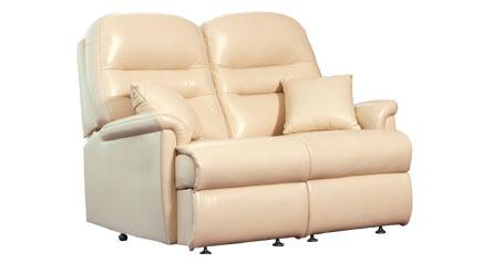 KESWICK - 2 Seat Leather Settees by Sherborne