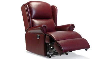 MALVERN - Leather Reclining Chair