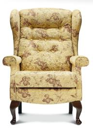 BROMPTON Wing Chair - Low