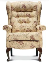 BROMPTON Wing Chair - Standard height