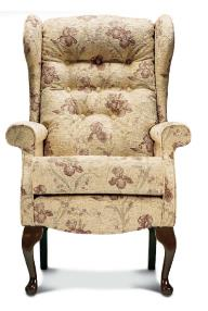 BROMPTON Wing Chair - High seat