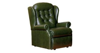 LYNTON - Leather Chair by Sherborne