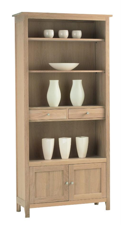Nimbus - Large Bookcase with cupboard & Drawers 1269