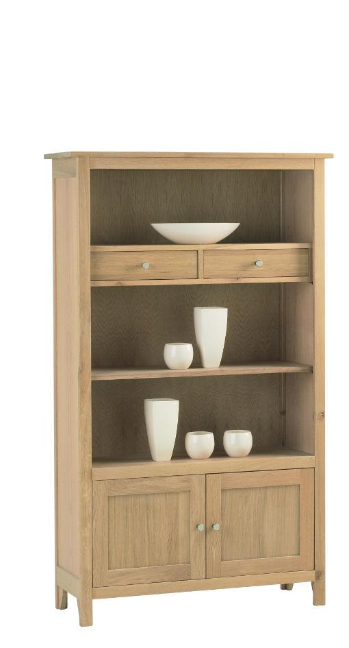 Nimbus - Medium Bookcase with cupboard & Drawers 1258