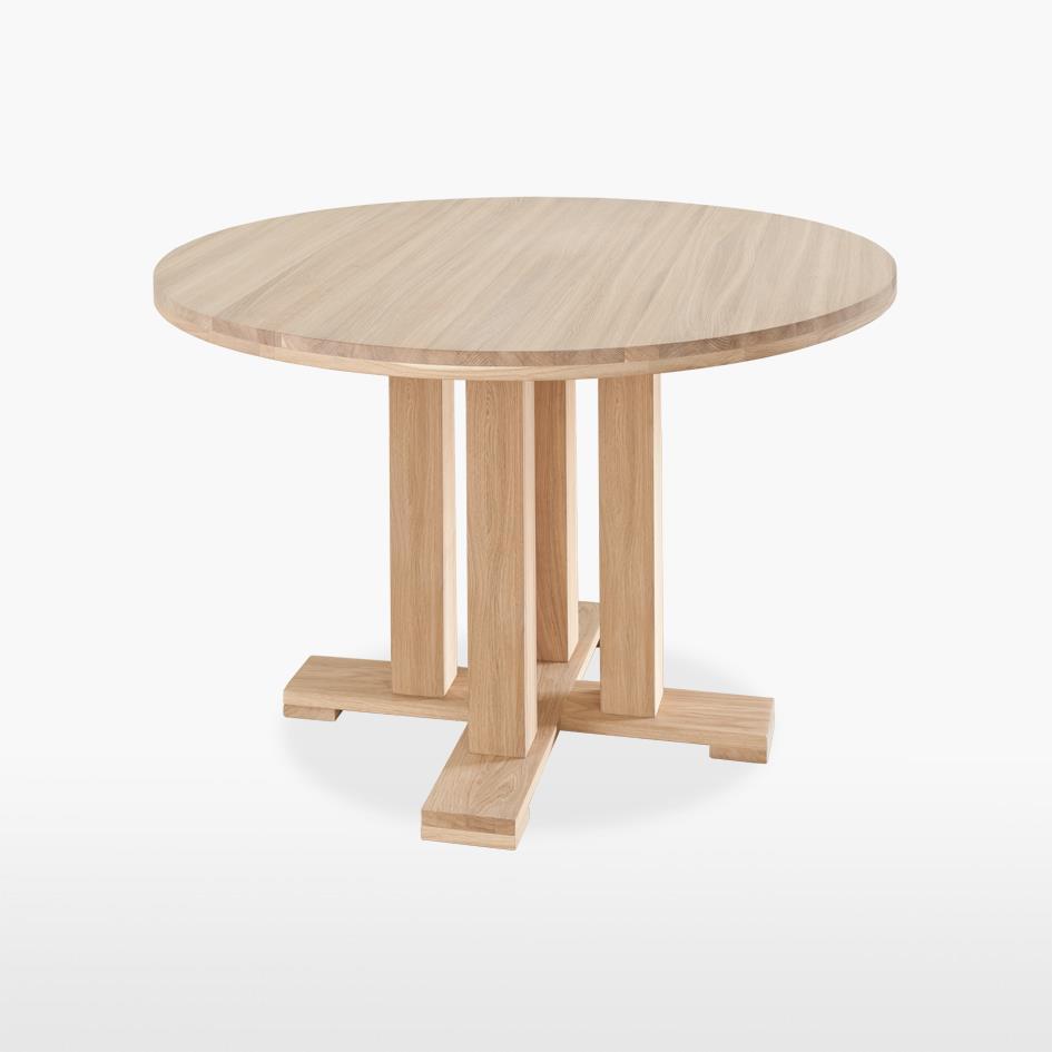 Quercia - Round Pedestal Table - QER100