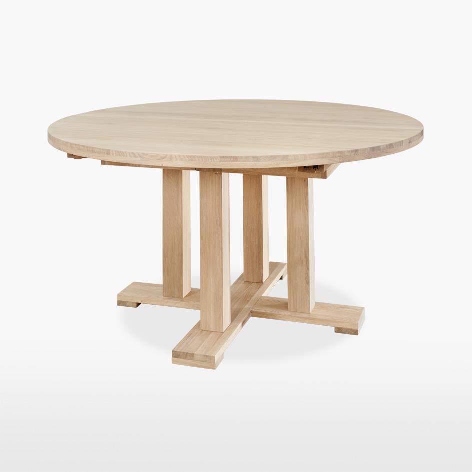 Quercia - Round Extending Pedestal Table - QER101