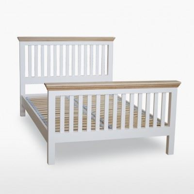 Coelo Slat Bed with High Foot End by TCH - COL844/5/6/60