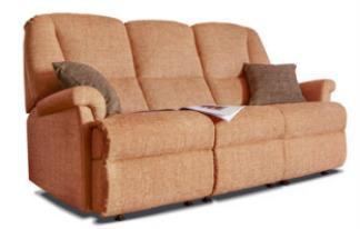 MILBURN - 3 Seater Fixed Settee