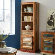 Coastal - Tall Narrow Bookcase