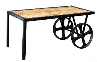 COSMO Industrial Coffee Cart Table