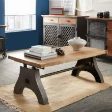 EVOKE - Iron & Wood Coffee Table