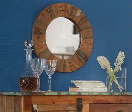 Coastal - Round Wall Mirror