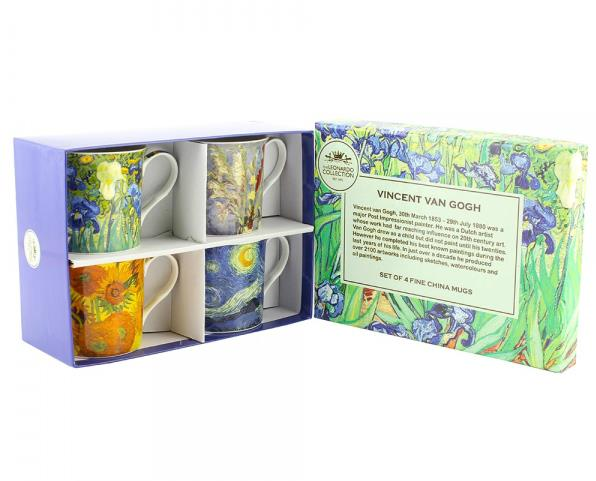 MUGS - 4 Pack - Van Gogh