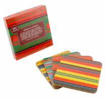 COASTERS - 4 Pack - African