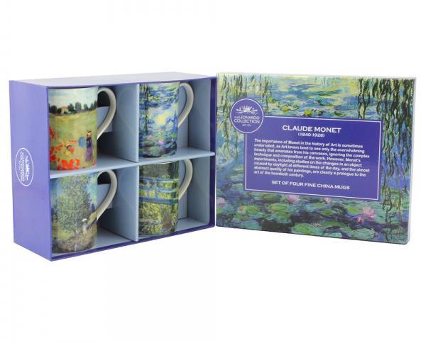 MUGS - 4 Pack - Monet Designs