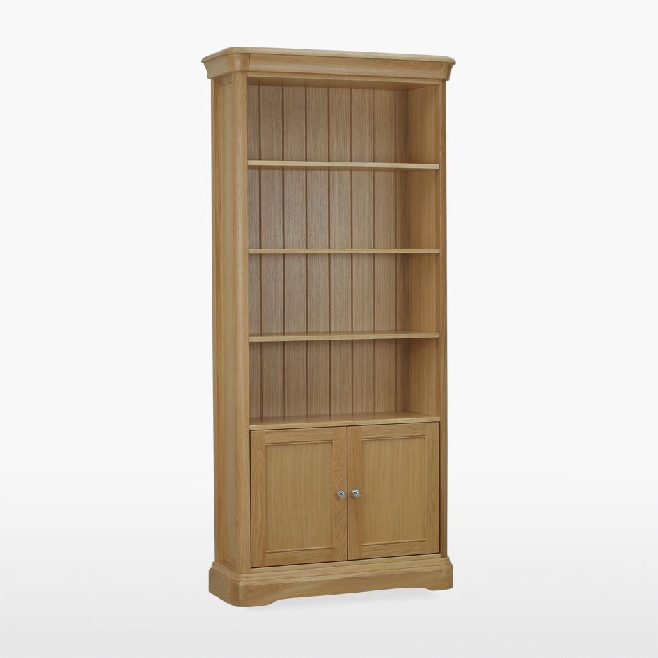LAMONT - Open Bookcase with cupboard LAM505