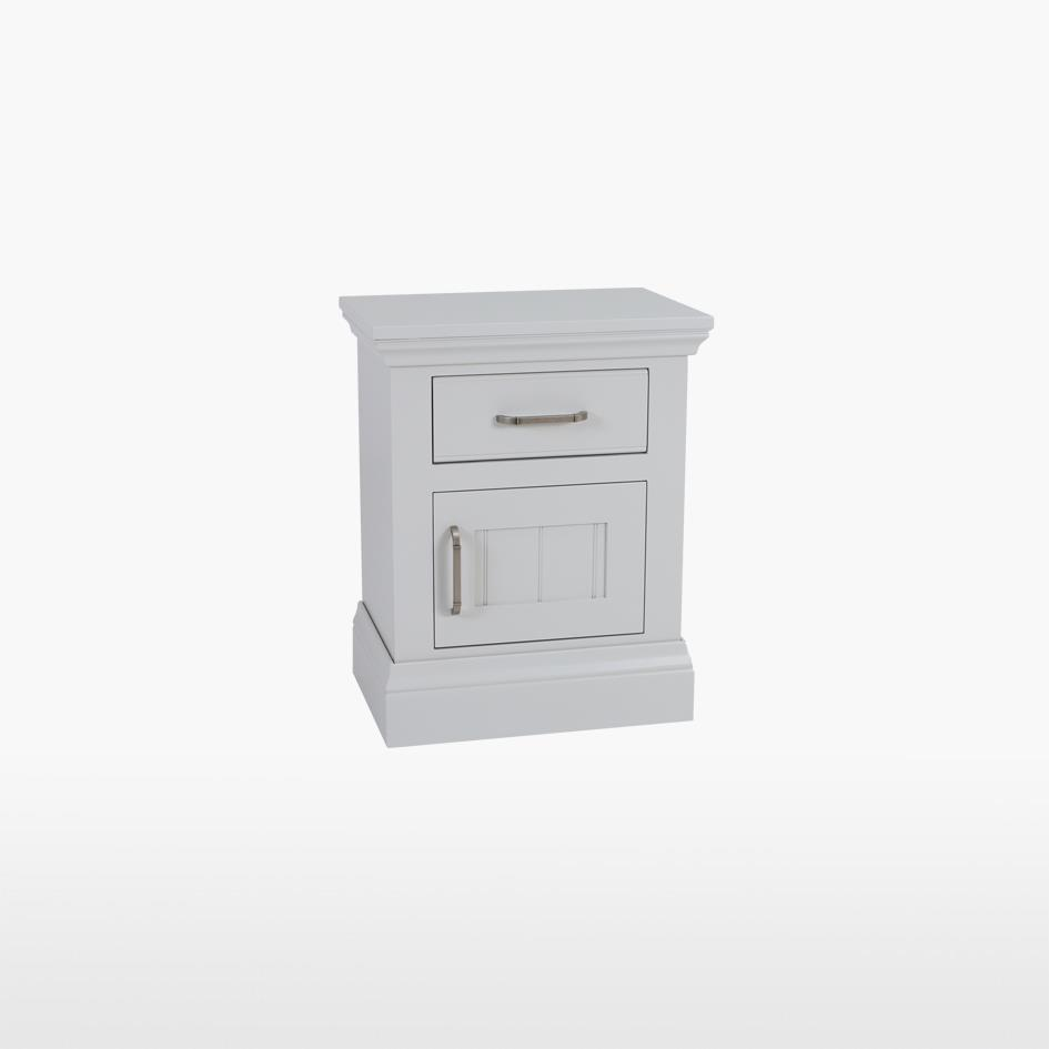 COELO - Small Bedside 1 drawer 1 door - Painted COL827F