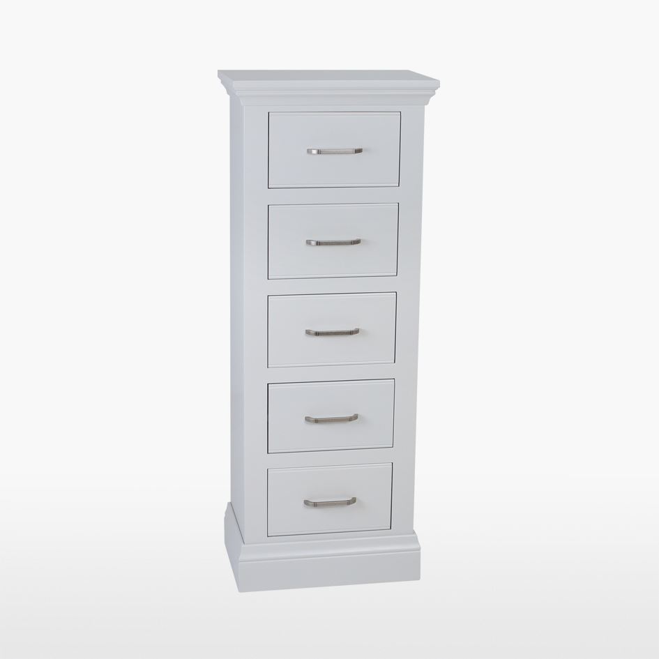 COELO - 5 Drawer Narrow Chest - Painted COL804FP