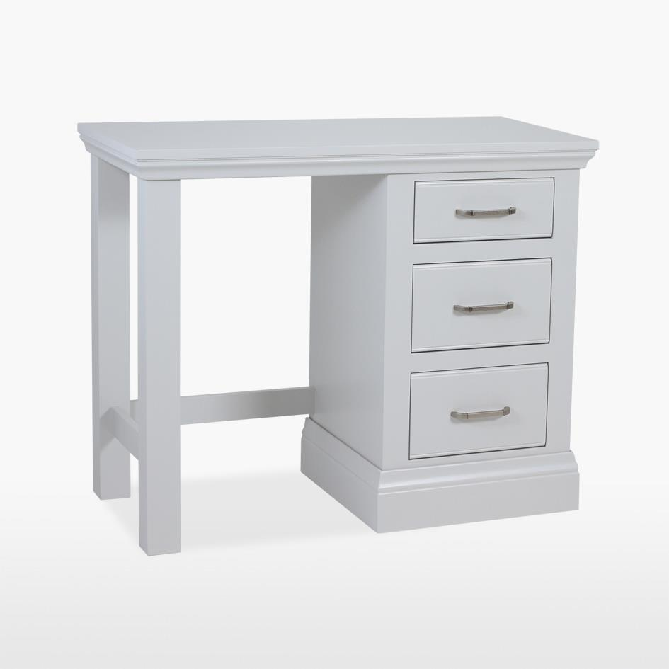 COELO - Single Pedestal Dressing Table - Painted COL820FP