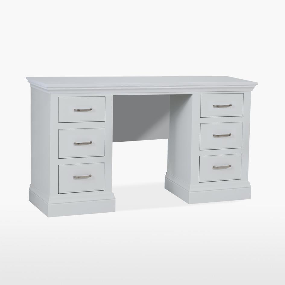 COELO - Double Pedestal Dressing Table - Painted COL850FP
