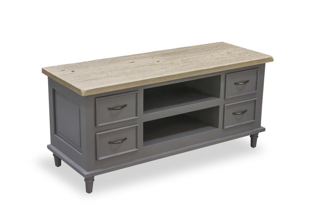 PROVENCE - TV UNIT with 4 drawers & 2 Shelves