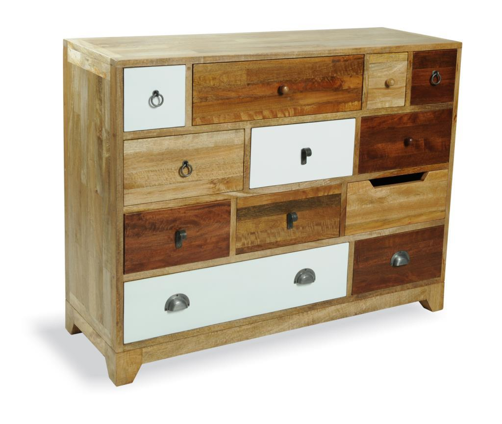 VINTAGE - 12 Drawer Chest - Neutral Finish