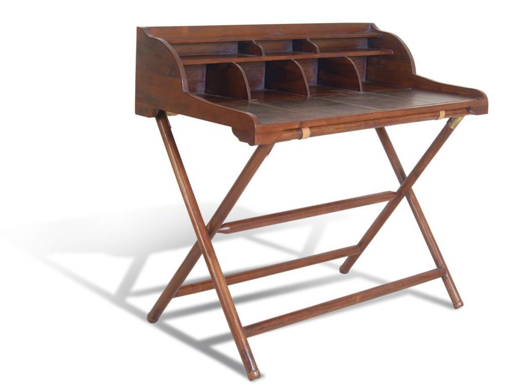 LIVINGSTONE - Writing Desk and Rack