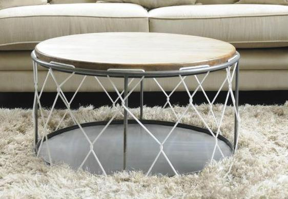 Re Engineered - Round Rope Coffee Table