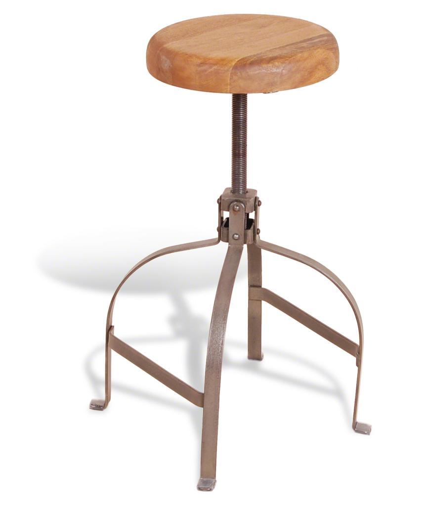 SCREW STOOL - Adjustable Seat