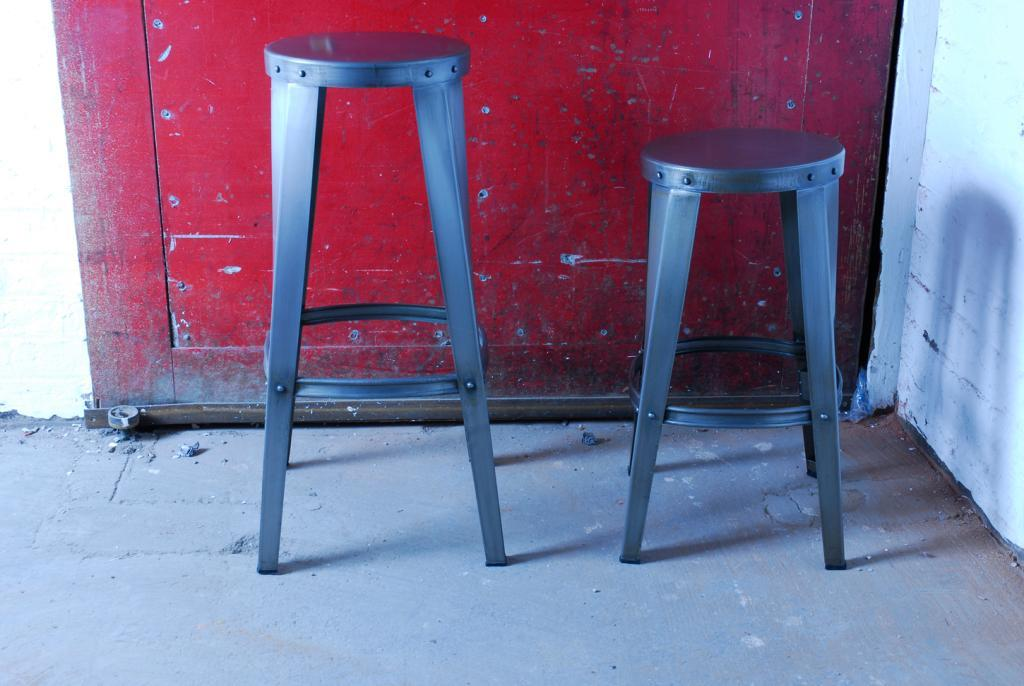 RE-ENGINEERED TOOL-SHOP STOOL - Low & High