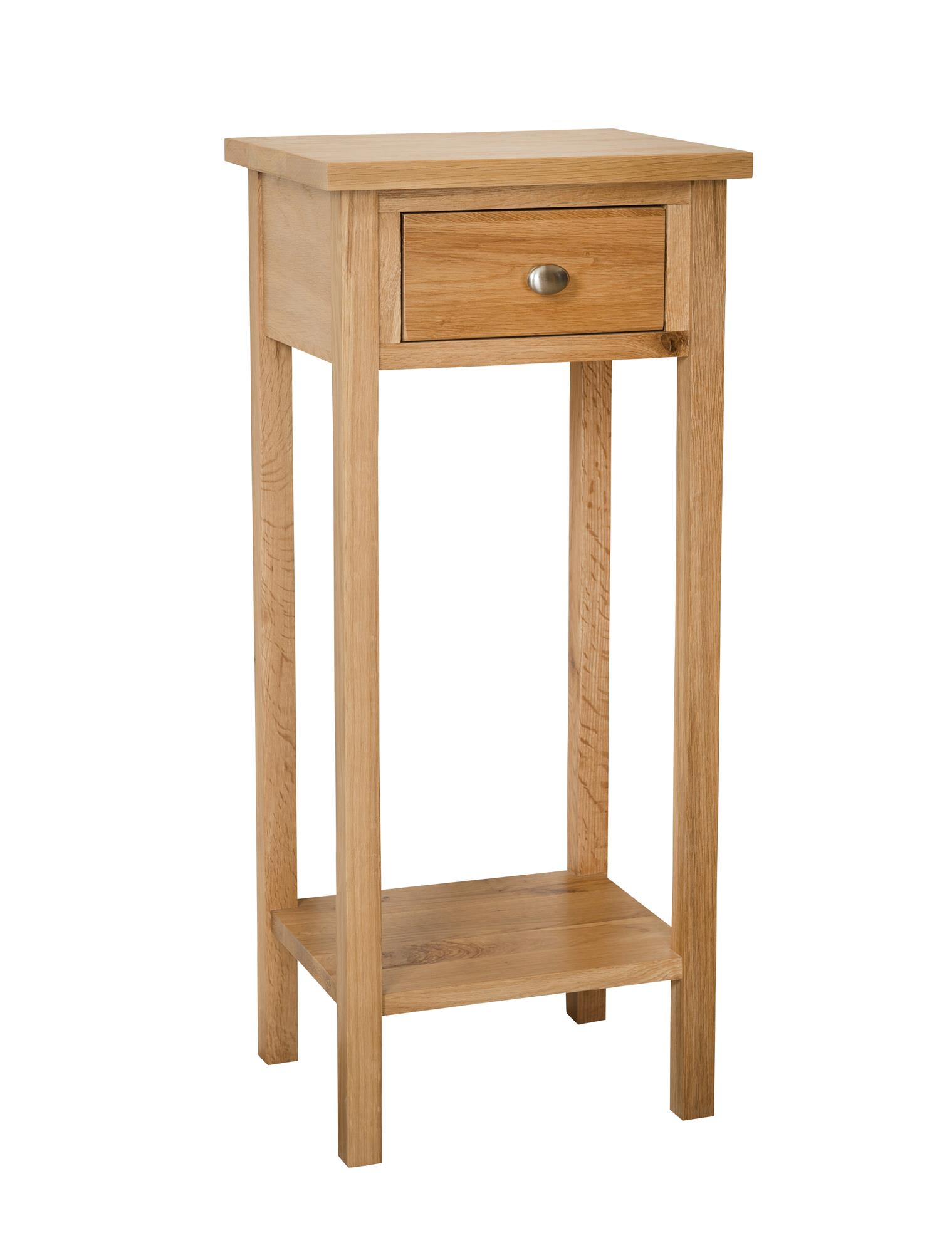 OAK - SMALL TELEPHONE TABLE