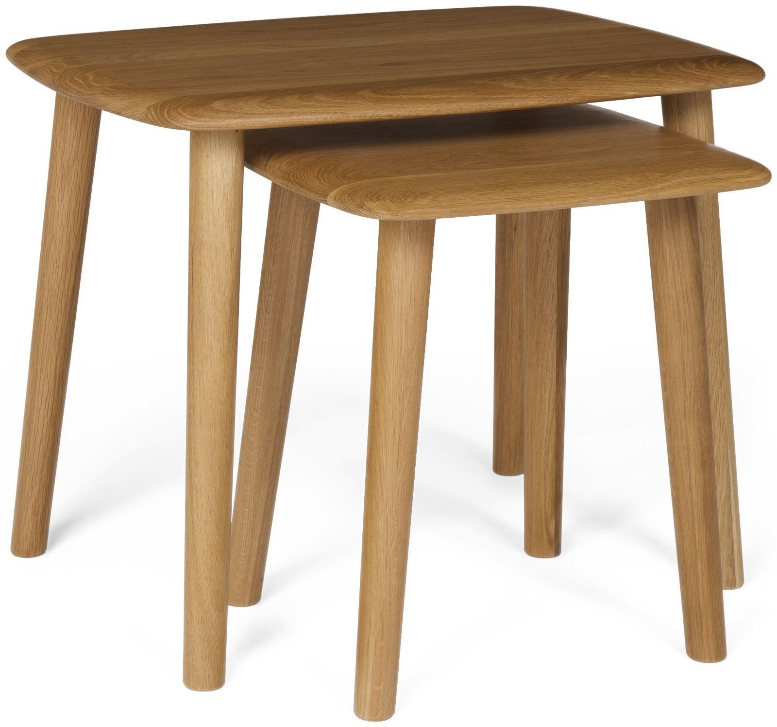MALMO - Oak Nest of Tables.