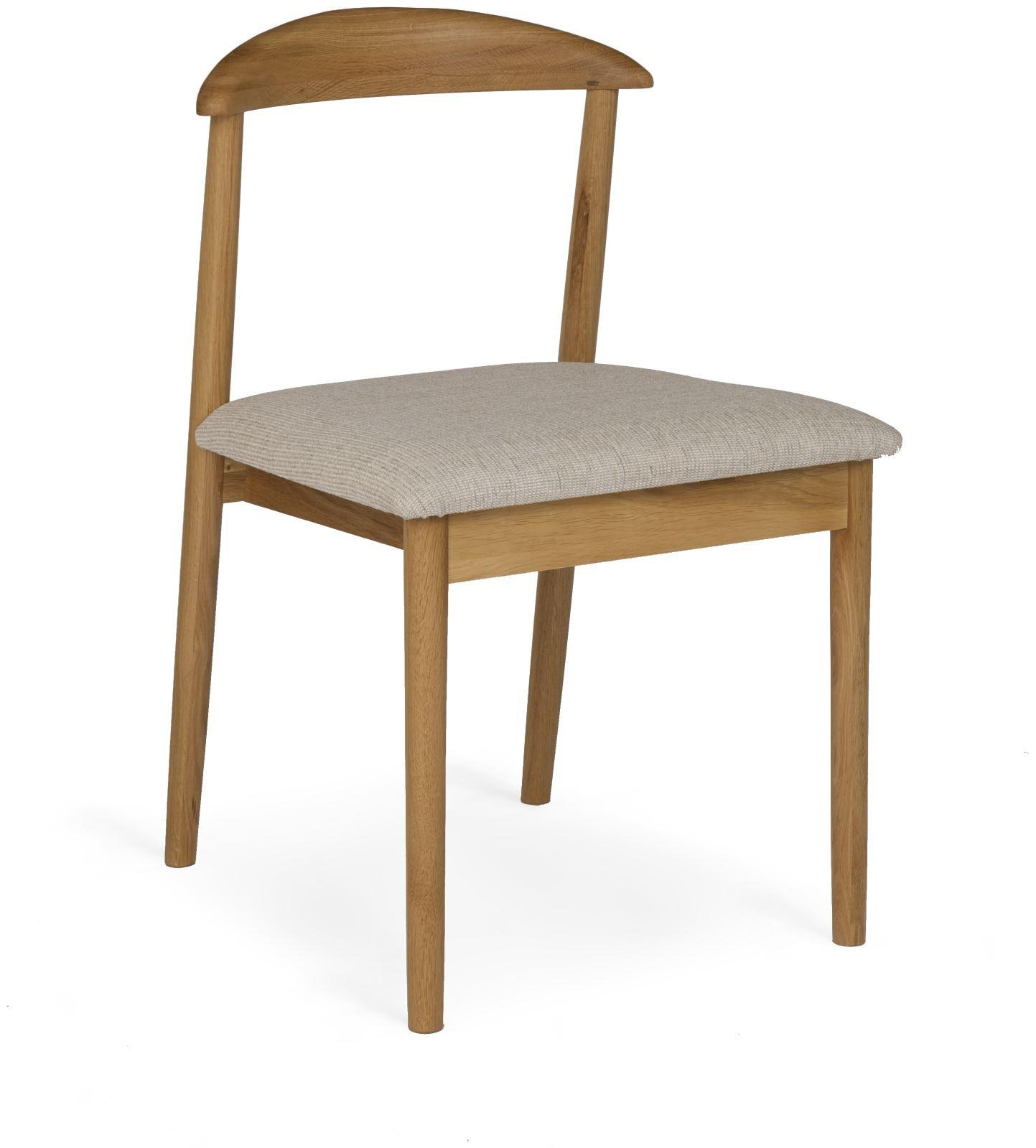 MALMO - Oak Dining Chair - No arms