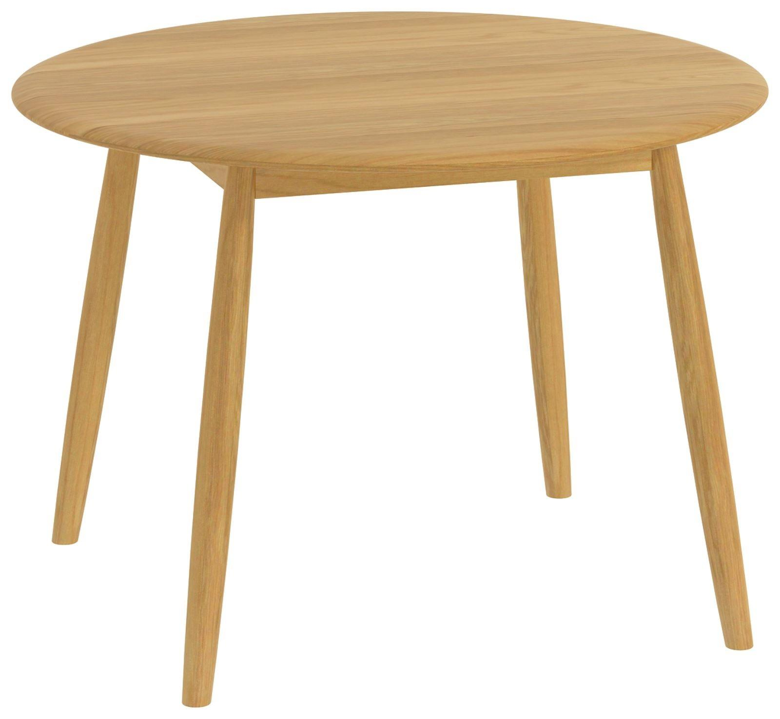 MALMO - Oak Round Dining Table