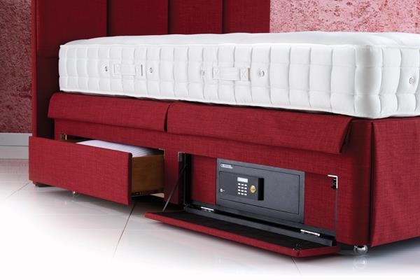Hypnos Beds - Hidden Bed Safe Divan Base