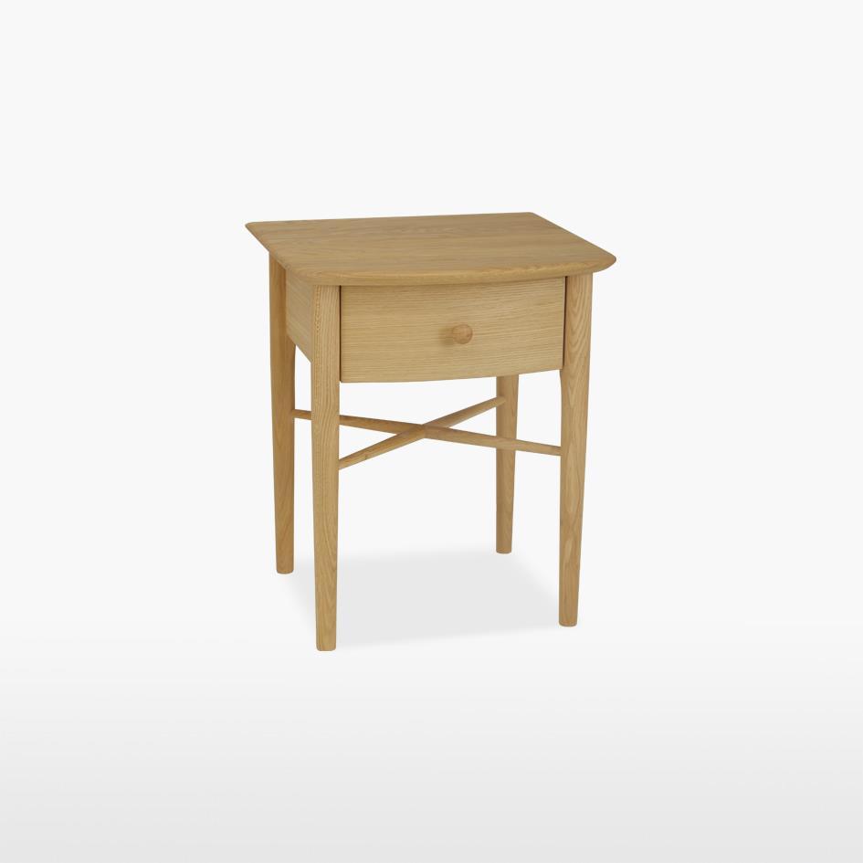 ANAIS - Oak Bedside Chest - 1 drawer - 801