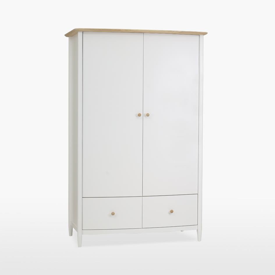 ELISE - Gentlemans Two Door Robe  with drawers - 811
