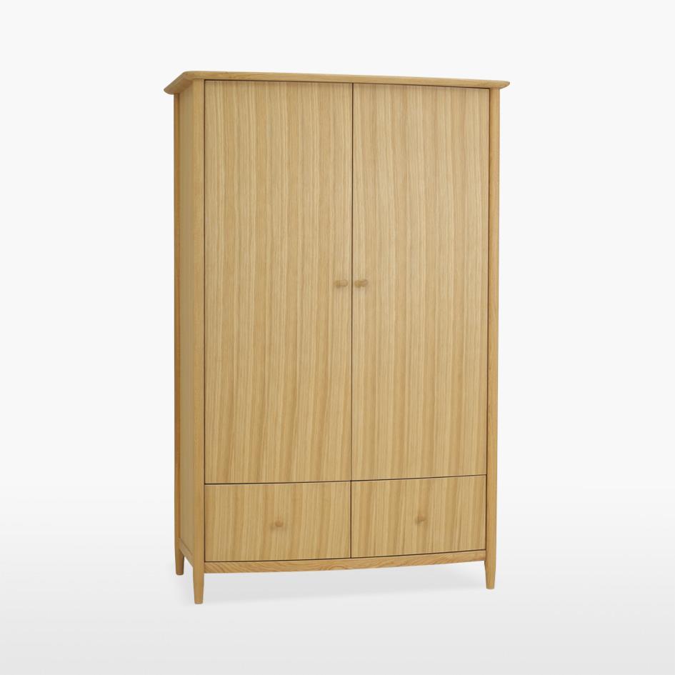 ANAIS - Oak Gentlemans Two Door Robe - 811