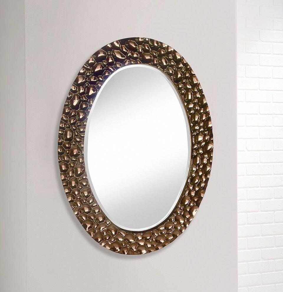 CHROME COPPER - Oval Wall Mirror