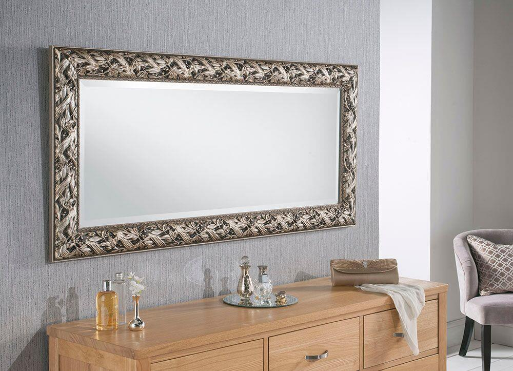 SHERWOOD Silver - Wall Mirror
