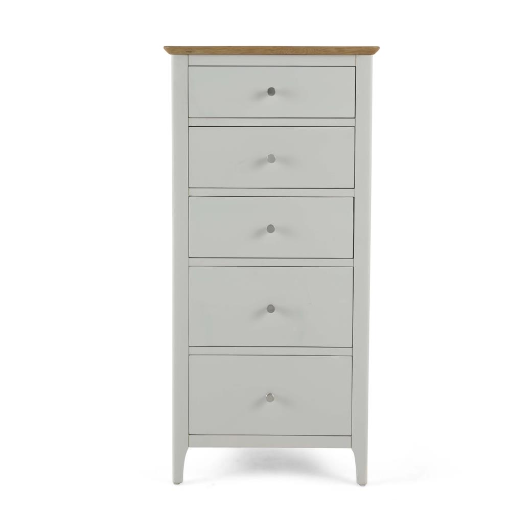 CORFE Painted - 5 Drawer Painted Chest. (2+3)