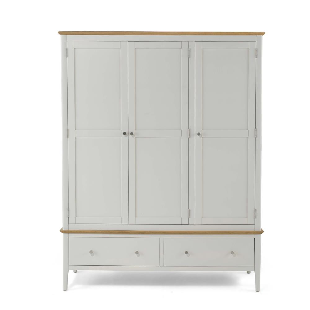 CORFE Painted - Painted Triple Wardrobe