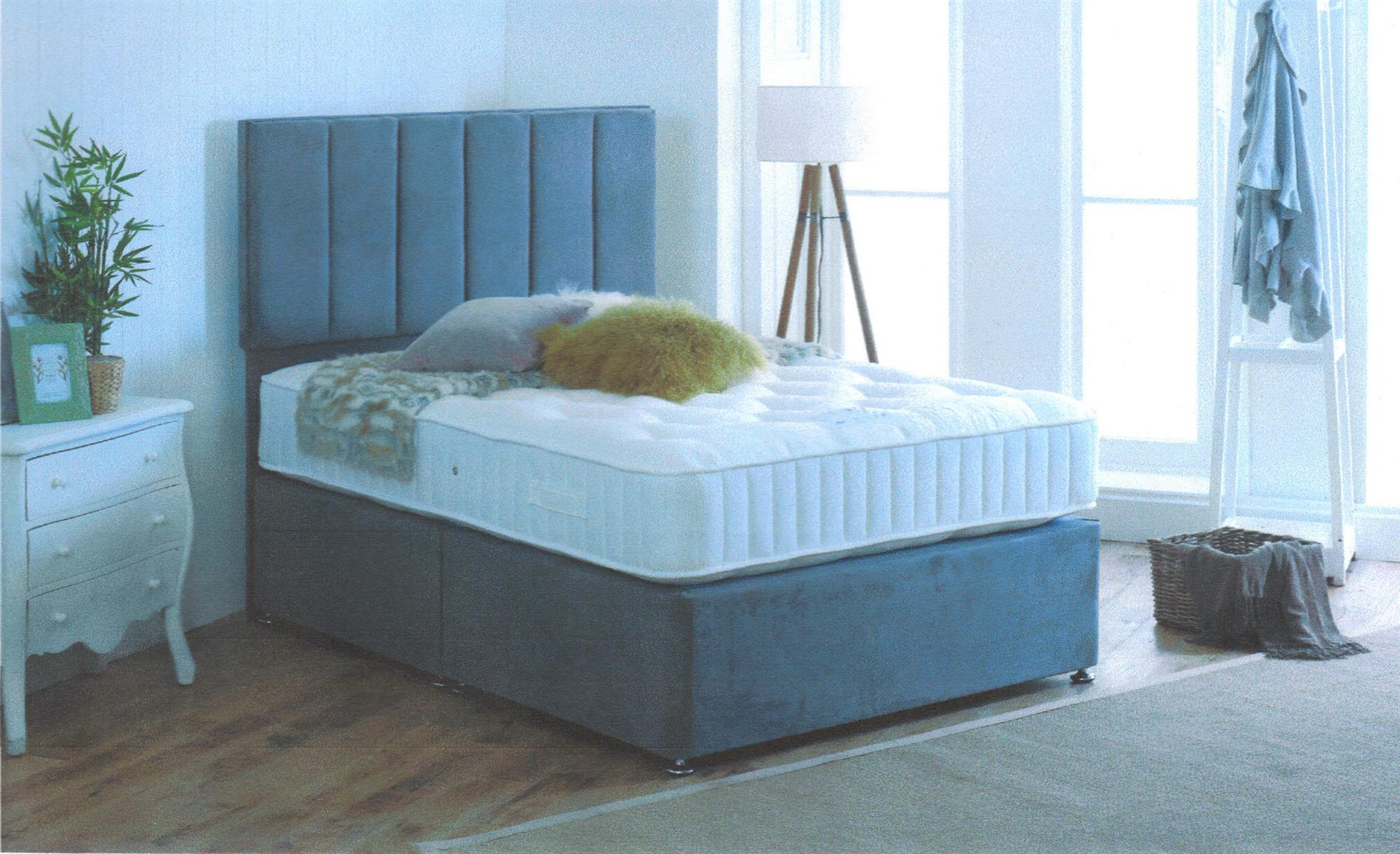 NATURAL Pocket Sprung Mattress / Divan set