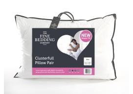 CLUSTERFULL Pillows by Fine Bedding Co. (PAIR)