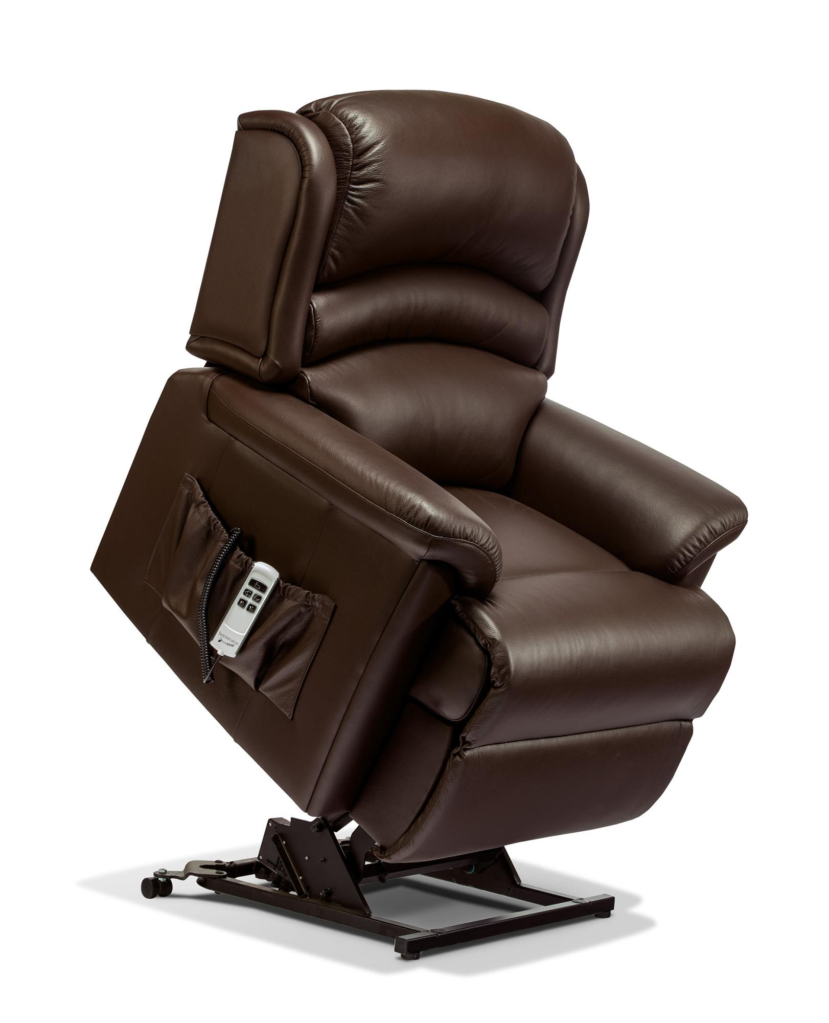 OLIVIA - Leather  Lift & Rise Recliner Chair