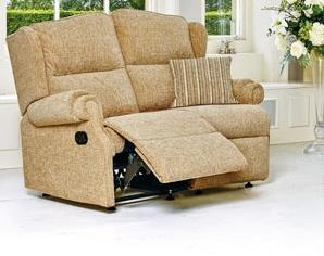 CLAREMONT - 2 Seater Reclining Settee - by Sherborne
