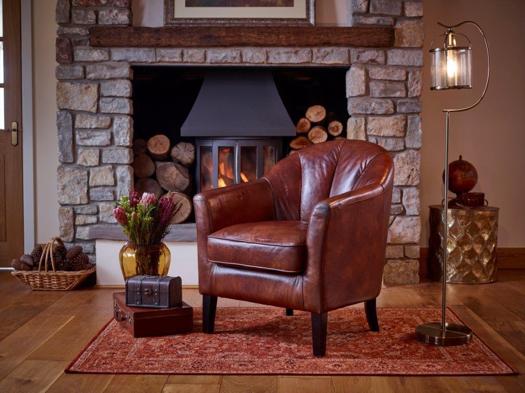 PARK LANE -  Leather Chair
