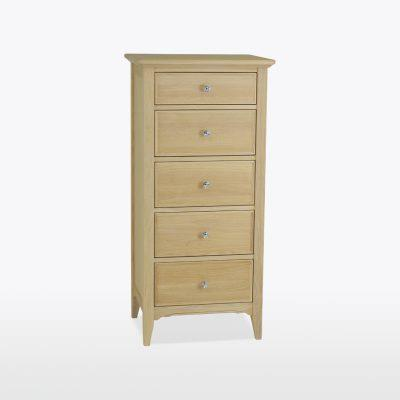 NEW ENGLAND - 5 Drawer Narrow Chest - Wellington