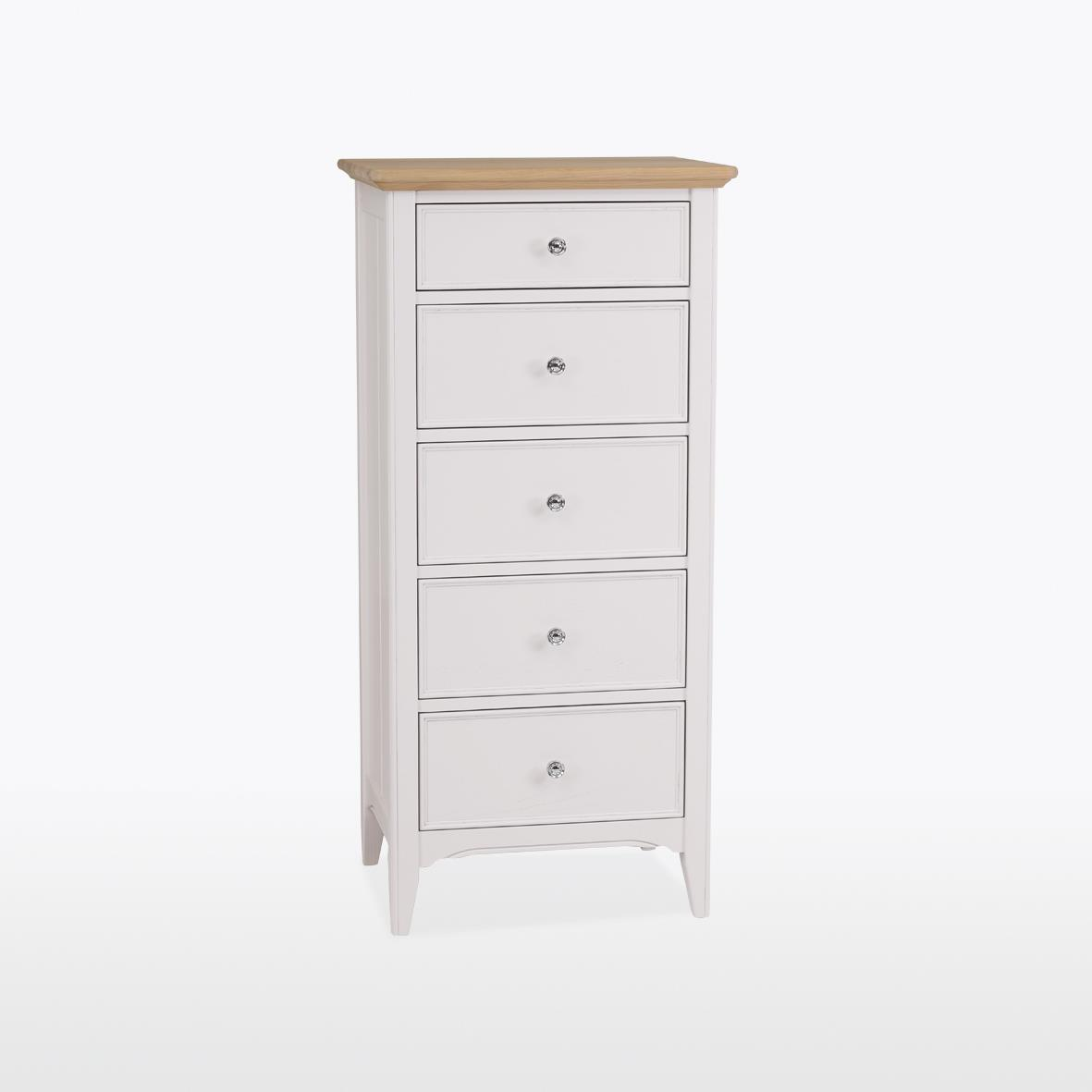 NEW ENGLAND - 5 Drawer Narrow Chest - Wellington NEL802